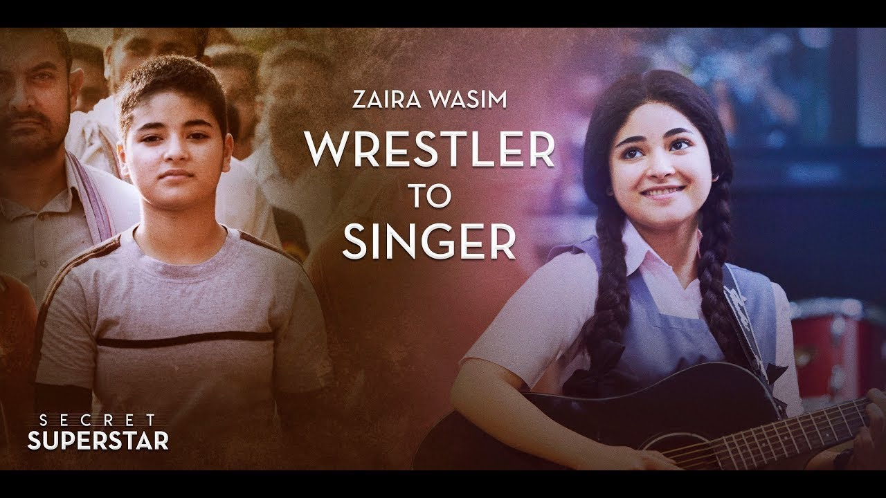 from a wrestler to a singer here