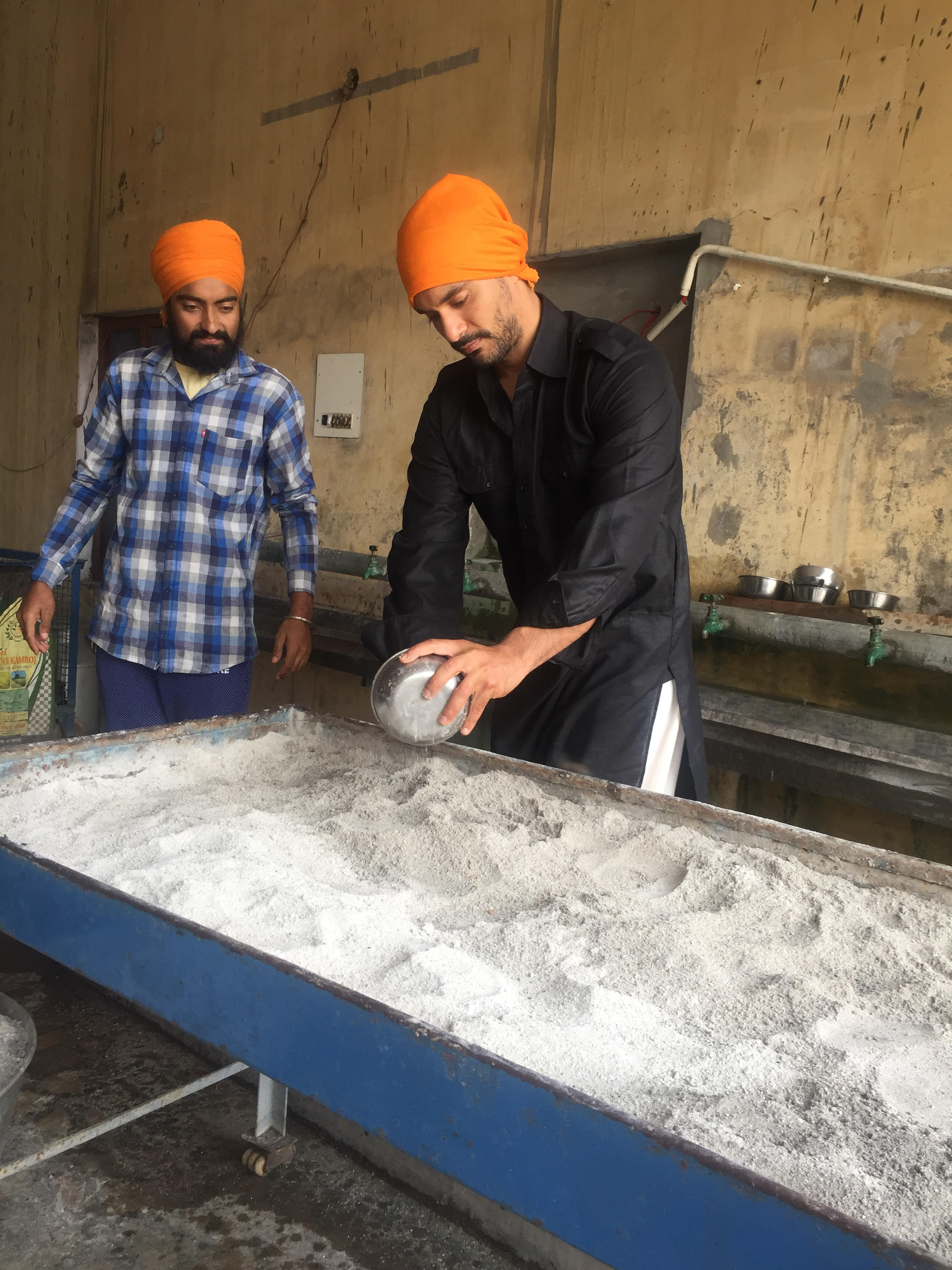 Angad Cooking for Langar