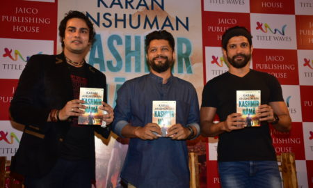 Farhan Akhtar, Kashmirnama, book launch