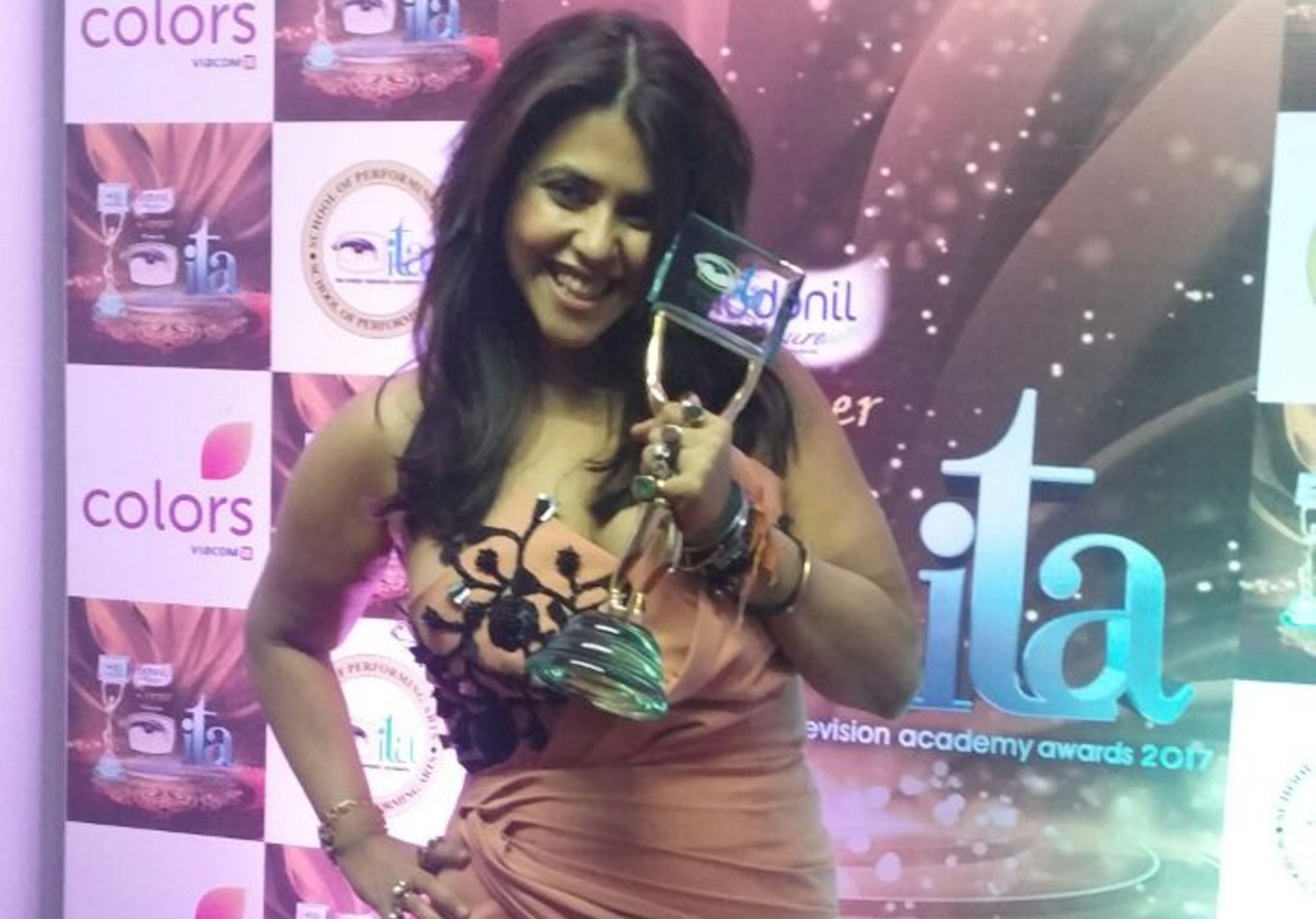 Ekta Kapoor, ITA Awards 2017!