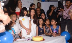 Aishwarya Rai, Smile foundation, celebrate, fathers birthdays, Day of Smiles