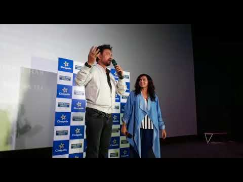 irrfan khan parvathy visit a the