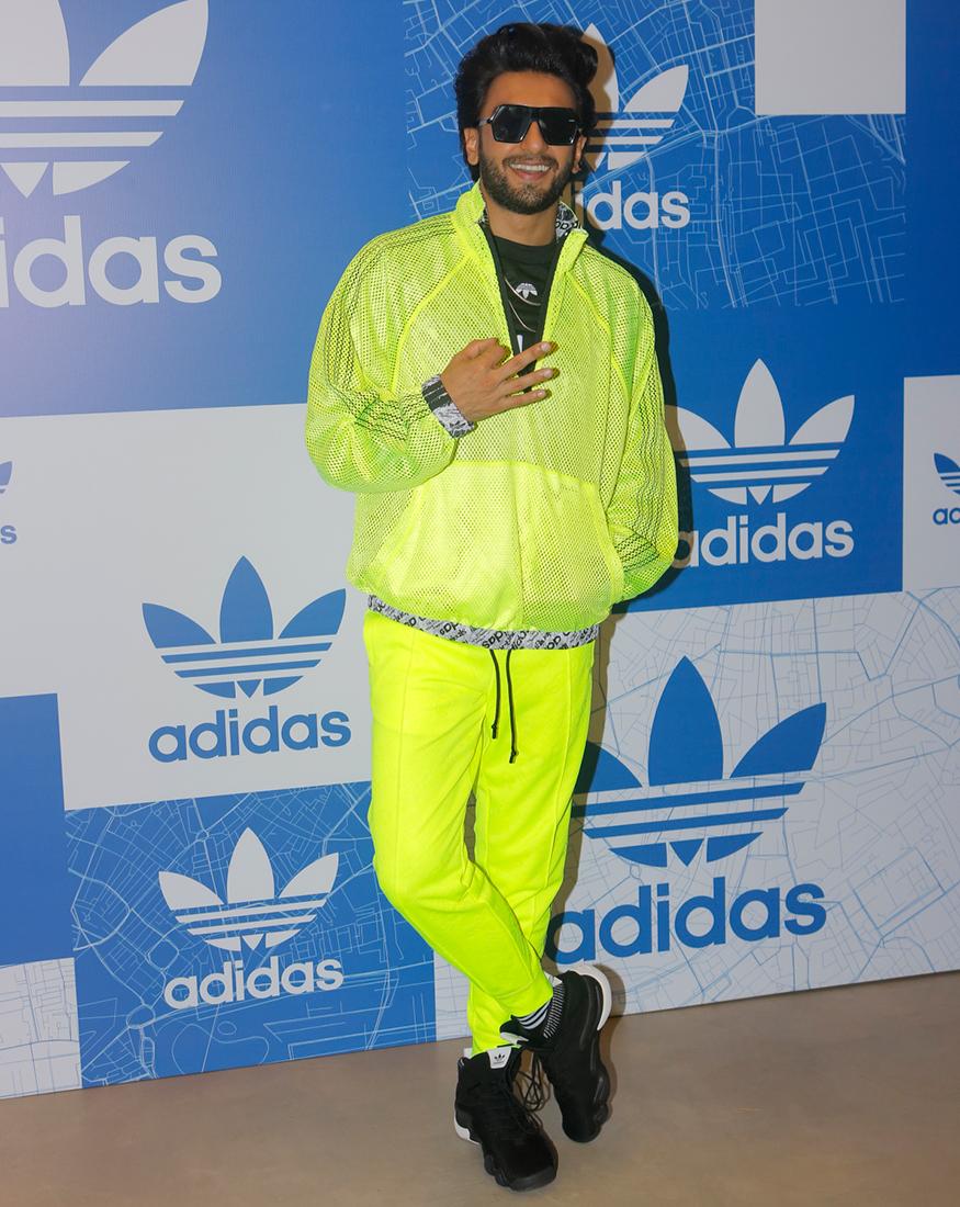 Adidas Originals Store, Ranveer Singh, Inauguration,