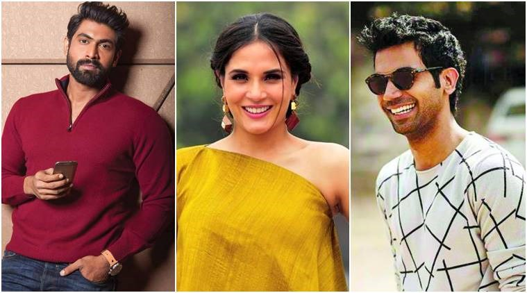 Rajkummar Rao, RanaDaggubati,Richa Chadha, masretclass,success stories