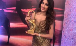 Niddhi Agerwal, Best Debut Actor, Zee Cine Awards