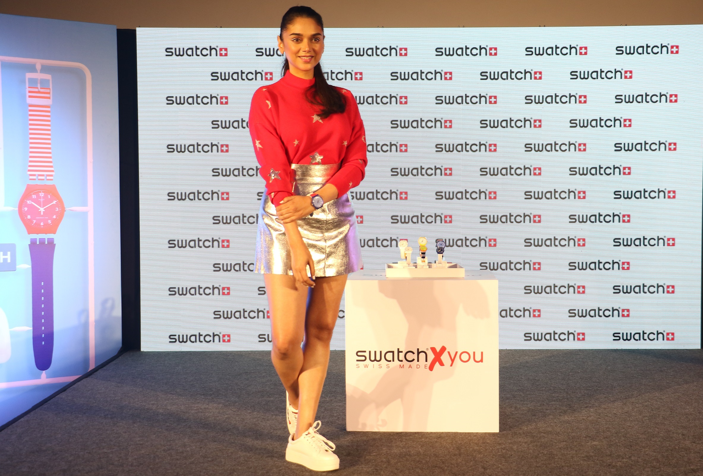 Swatch, Aditi Rao Hydari, Swatch x You,