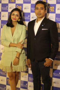 Mrinalini Chandra and Jiggy George at the Candy Crush Jewellery Launch hosted by Mrinalini Chandra and Dream Theatre
