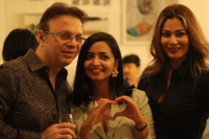 Roshan Abbas and Shaheen Abbas at the launch of at the Candy Crush Jewellery Launch hosted by Mrinalini Chandra and Dream Theatre