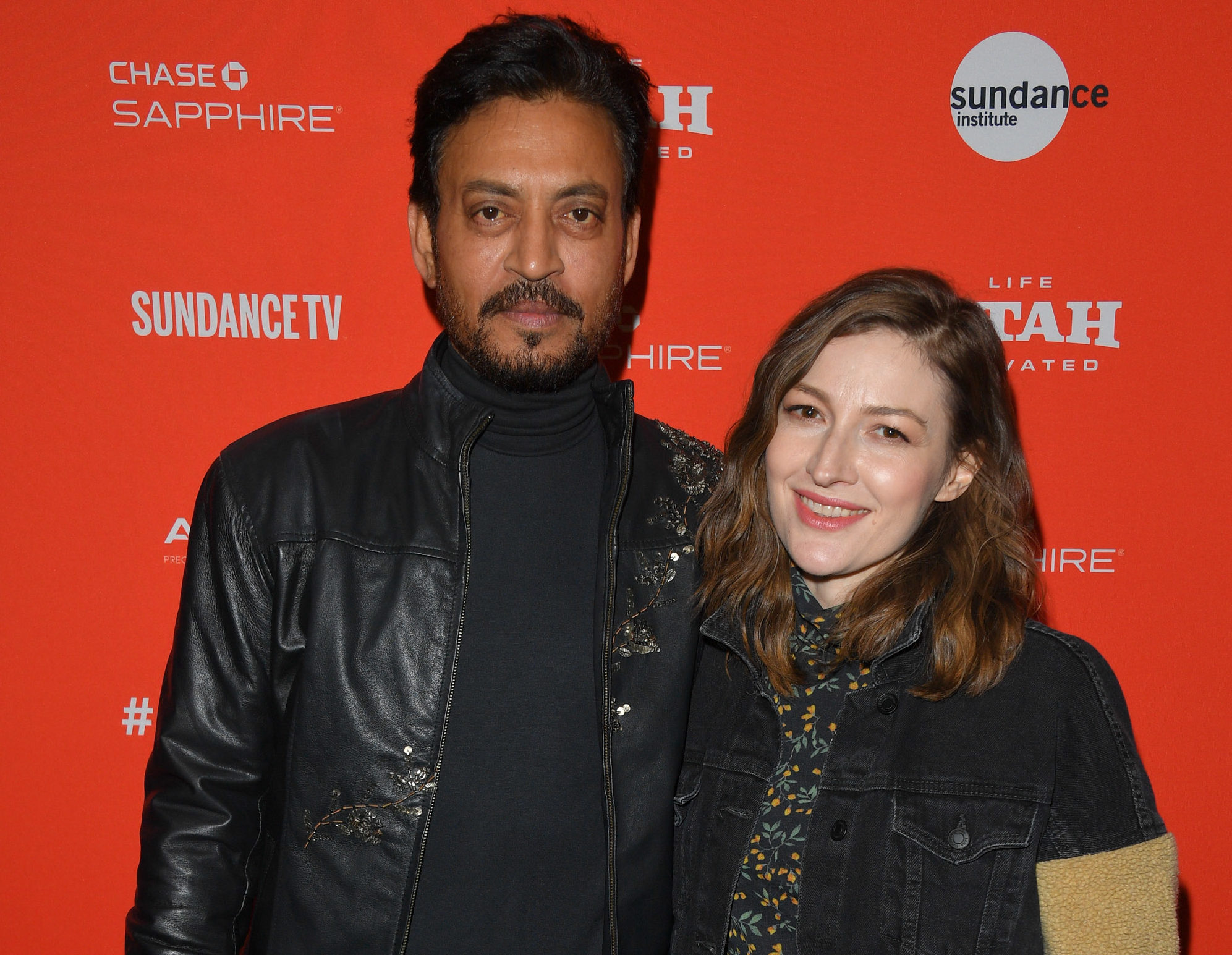 Irrfan Khan, Kelly MacDonald, Sundace Red Carpet