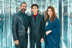 Javed Jaffery and family