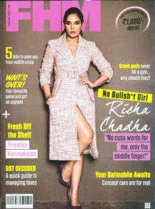 Richa Chadha , FHM magazine