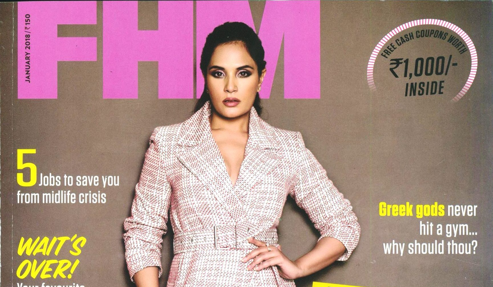 Richa Chadha , FHM magazine