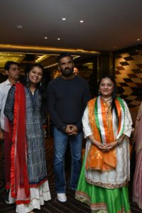 Suniel Shetty, Neil Nitin Mukesh ,Lodha Family