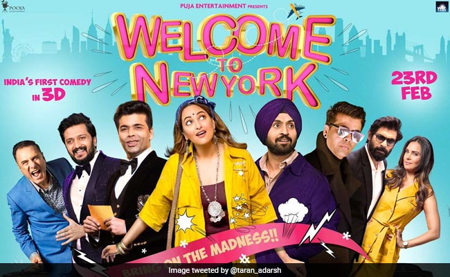 Karan Johar,Welcome To New York