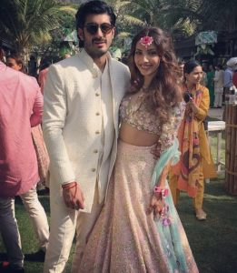 Here is a sneek peak of Mohit Marwah and Antara Motiwala's grand mehendi and sangeet!