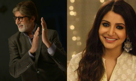 Amitabh Bachchan and Anushka Sharma official Facebook pictures