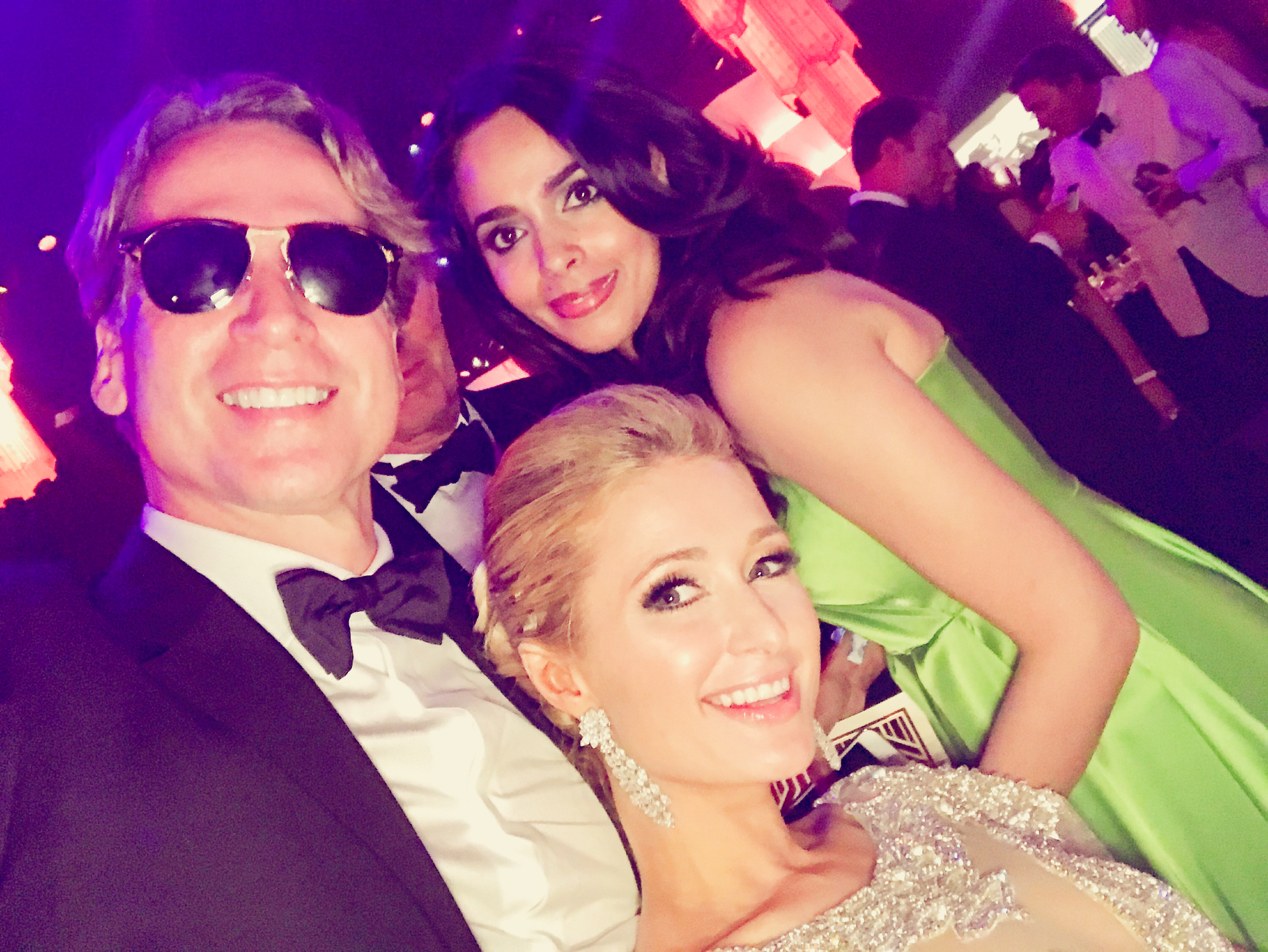 Mallika Sherawat, partying, Paris Hilton