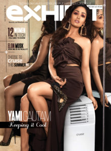 Yami Gautam,  cover, Exhibit magazine