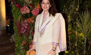 Bollywood, celebs, wedding reception, The Club, Mumbai, Twinkle Khanna