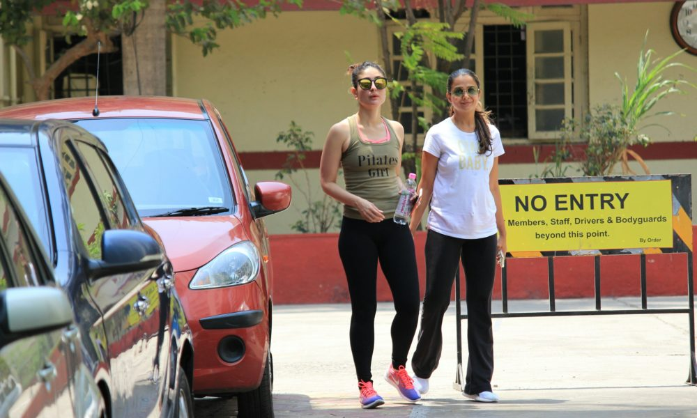 Pics: When Kareena Kapoor, Kunal spotted in GYM dress ...