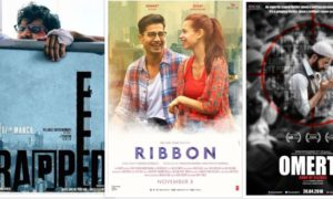 Ribbon,Trapped,Newton,Gurgaon,Haraamkhor,Meri Nimmo, Omerta, Hope Aur Hum, 102 Not Out,