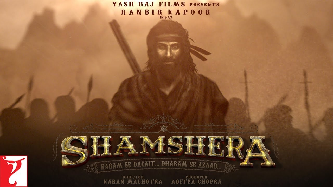 ranbir kapoor in and as shamsher