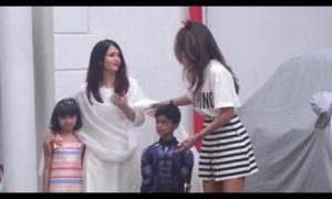 video aishwarya rai and aaradhya