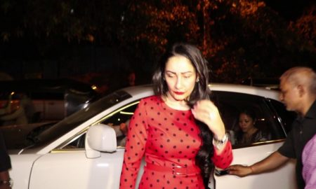 video manyata dutt spotted at ea