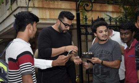 Arjun Kapoor, Birthday