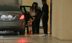 PHOTOS, Taimur, Kareena Kapoor khan, spotted, BollywoodDhamaka