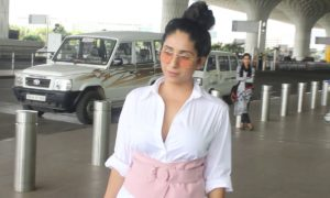 video neha bhasin spotted at air