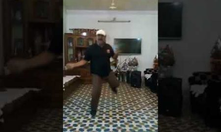 viral dancing uncle gives a danc
