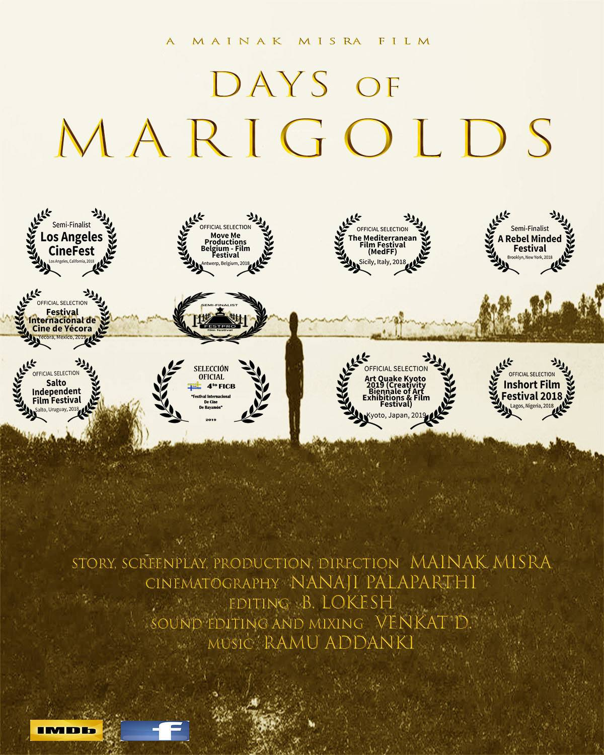 Poster Days of Marigolds