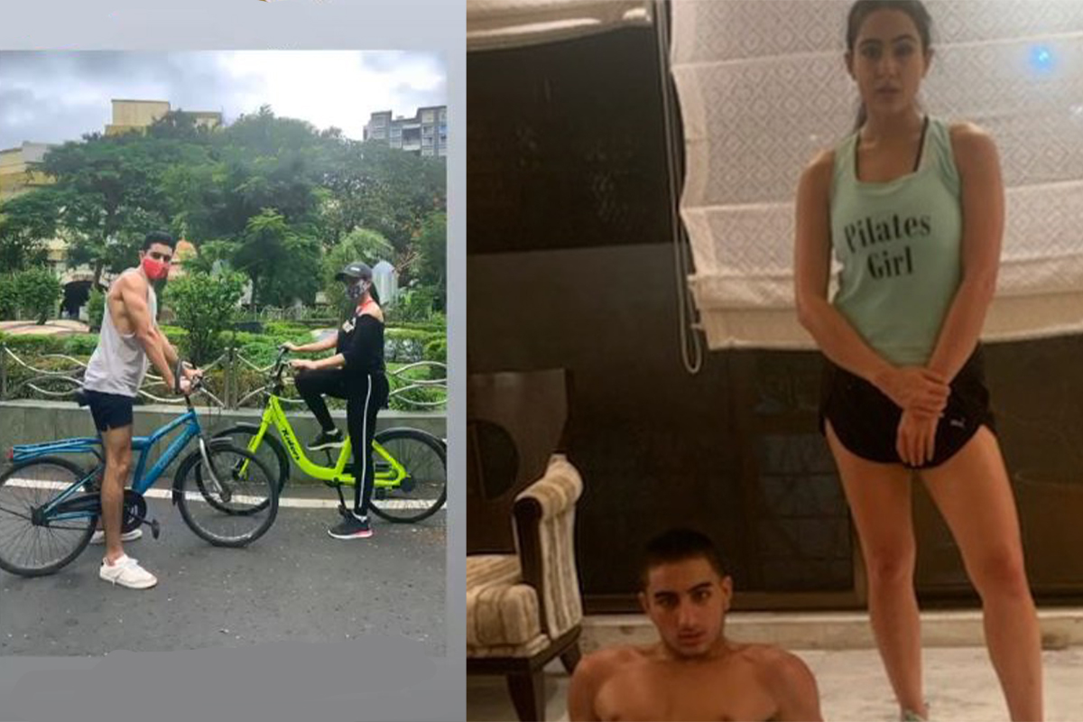 Sara Ali Khan, brother, Ibrahim, bikes