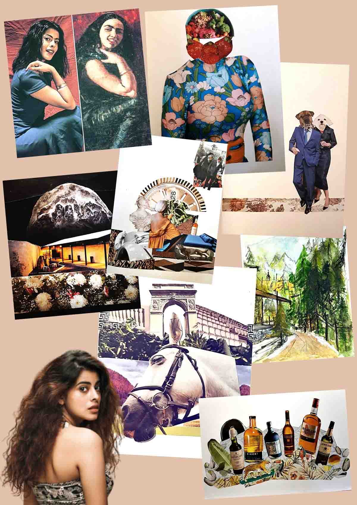 Anisha Victors Art for Sanity artworks Collage 3