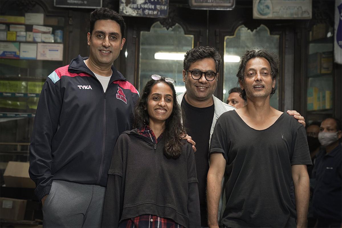 Bob Biswas, Shah Rukh Khan, Abhishek Bachchan
