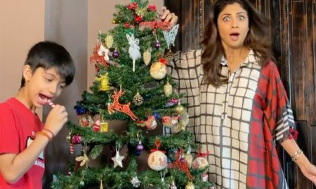 Shilpa Shetty, Christmas 2020