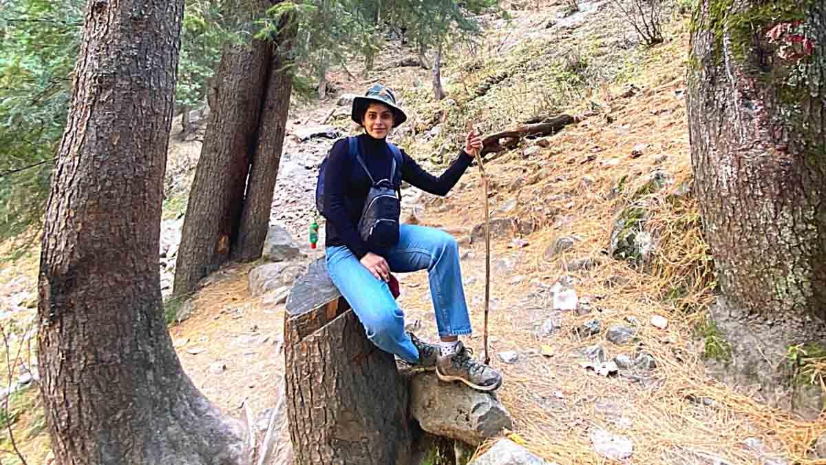 Anisha Victor in Himachal Pic 2