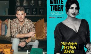 The White Tiger, Nick Jonas, Priyanka Chopra