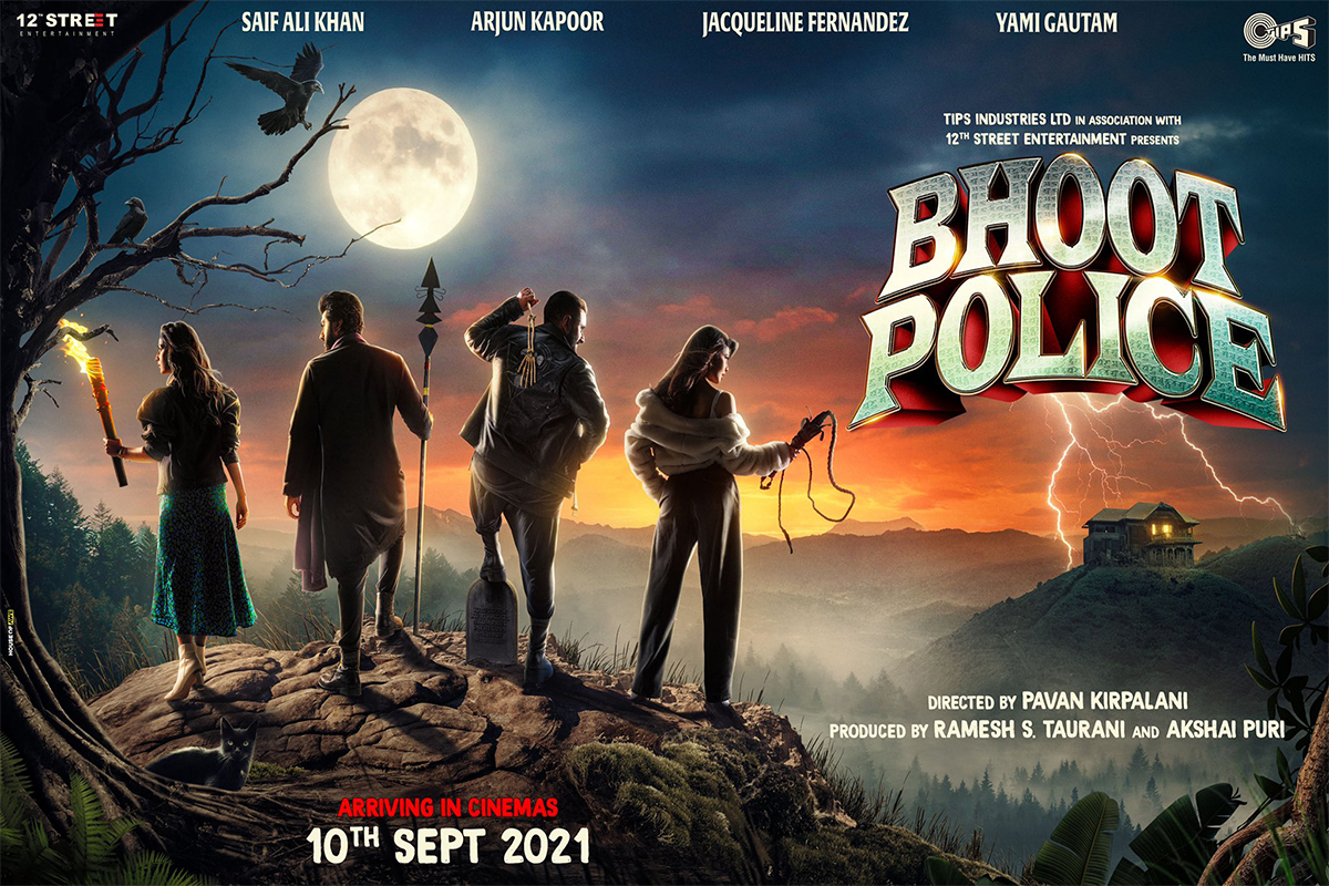 Bhoot Police, Release date