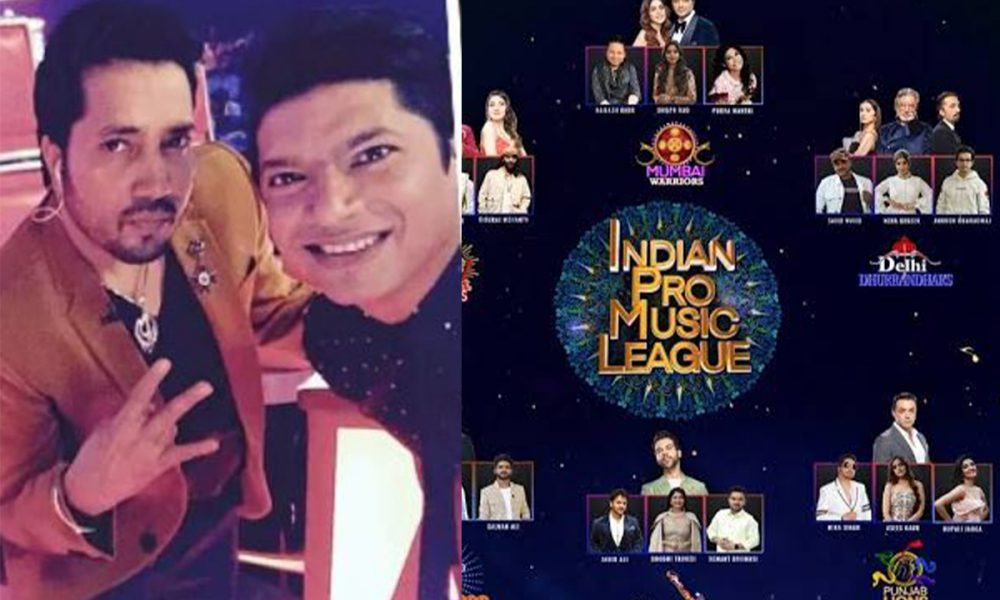 Shaan and Mika Singh sing each other's songs at Indian Pro Music League